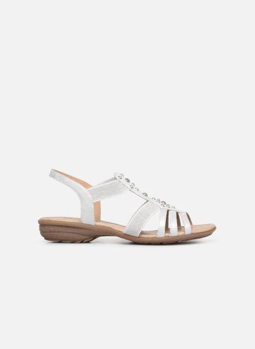 Sandales et nu-pieds Remonte Adaline Blanc vue derrière