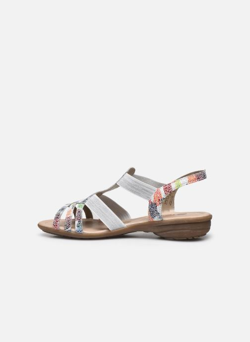 Sandales et nu-pieds Remonte Adaline Multicolore vue face