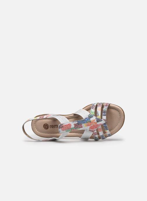 Sandales et nu-pieds Remonte Adaline Multicolore vue gauche