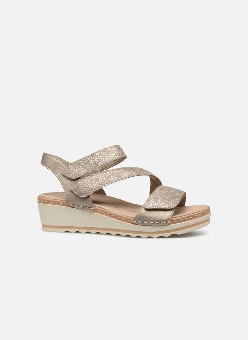 Sandales et nu-pieds Remonte Grizy R6057 Gris vue derrière