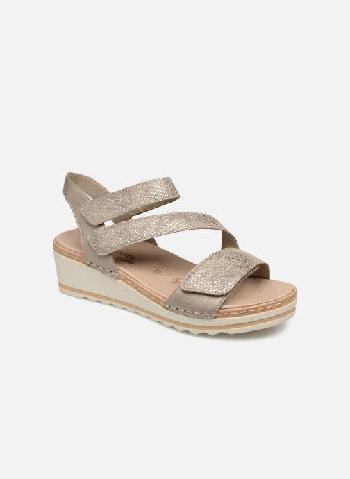 Sandales et nu-pieds Remonte Grizy R6057 Gris vue détail/paire