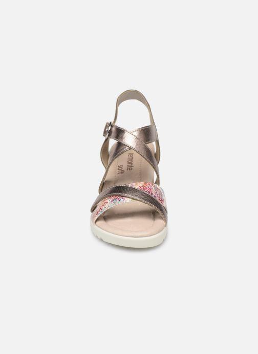 Sandales et nu-pieds Remonte Aude D3442 Beige vue portées chaussures