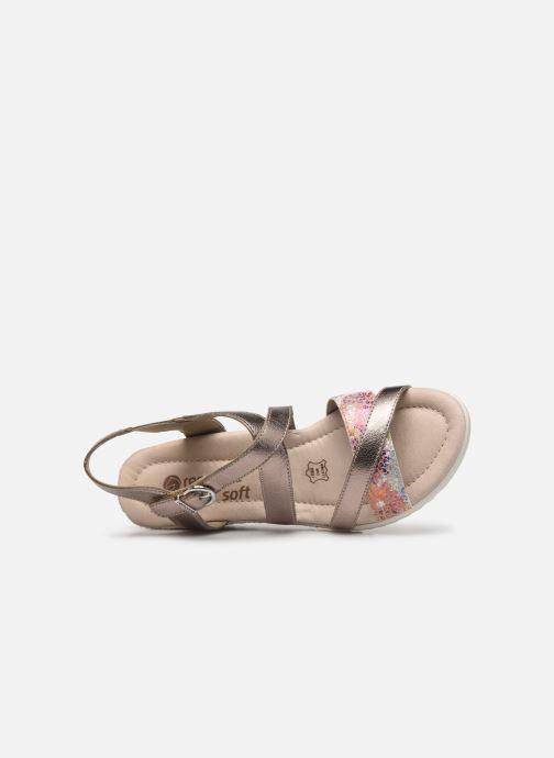 Sandales et nu-pieds Remonte Aude D3442 Beige vue gauche