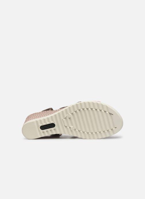 Sandales et nu-pieds Remonte Aude D3442 Beige vue haut