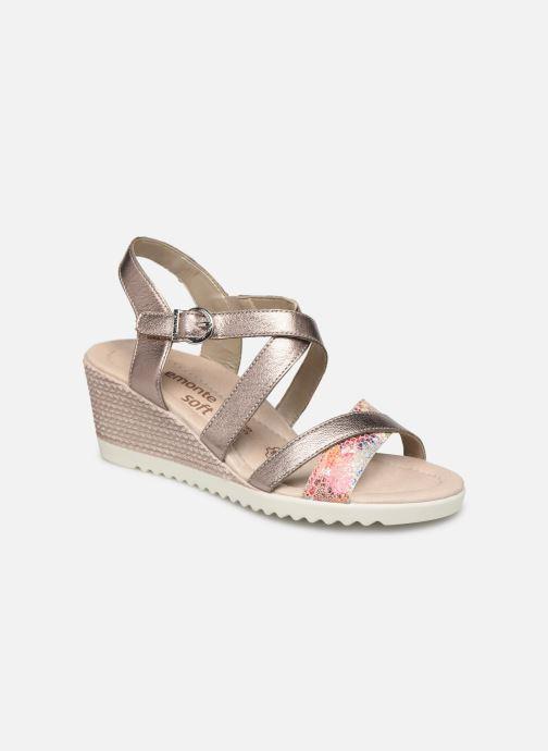 Sandales et nu-pieds Remonte Aude D3442 Beige vue détail/paire