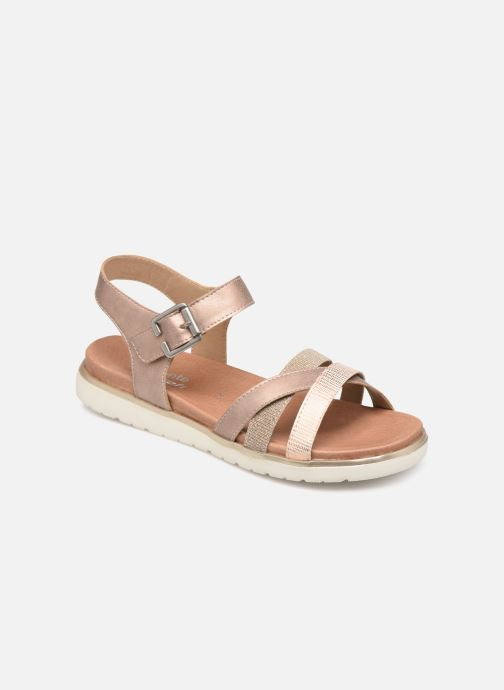 Sandals Remonte Nela Pink detailed view/ Pair view