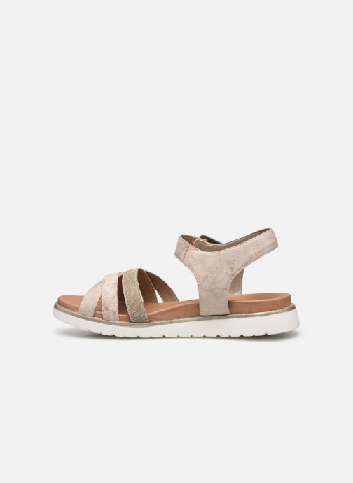 Sandales et nu-pieds Remonte Nela Beige vue face