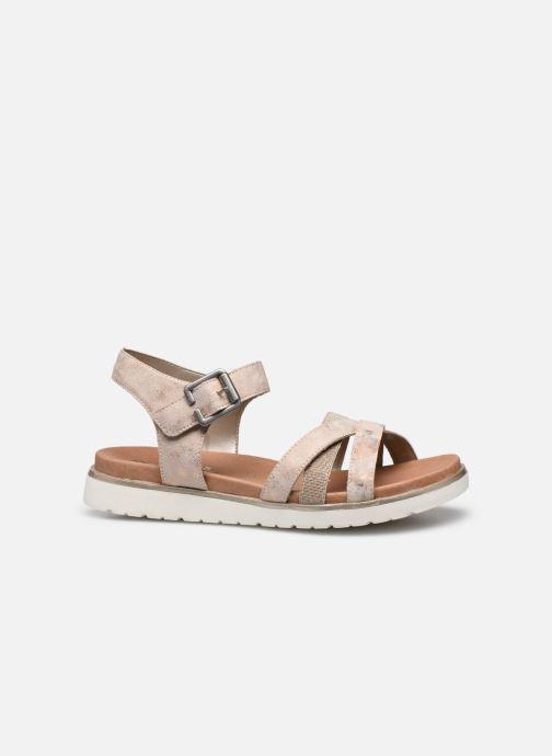 Sandales et nu-pieds Remonte Nela Beige vue derrière