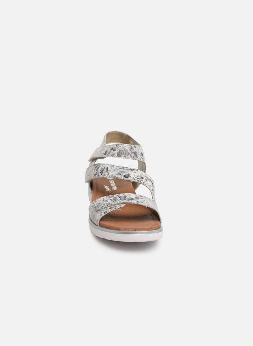 Sandales et nu-pieds Remonte Nelie D4057 Gris vue portées chaussures