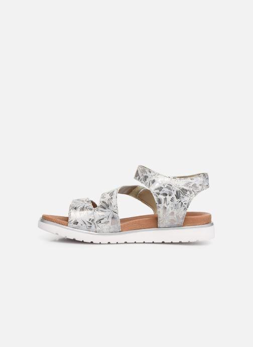Sandales et nu-pieds Remonte Nelie D4057 Gris vue face