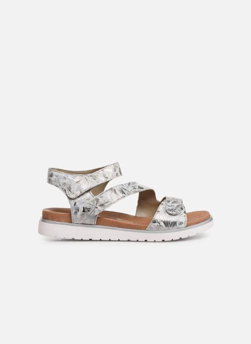 Sandales et nu-pieds Remonte Nelie D4057 Gris vue derrière