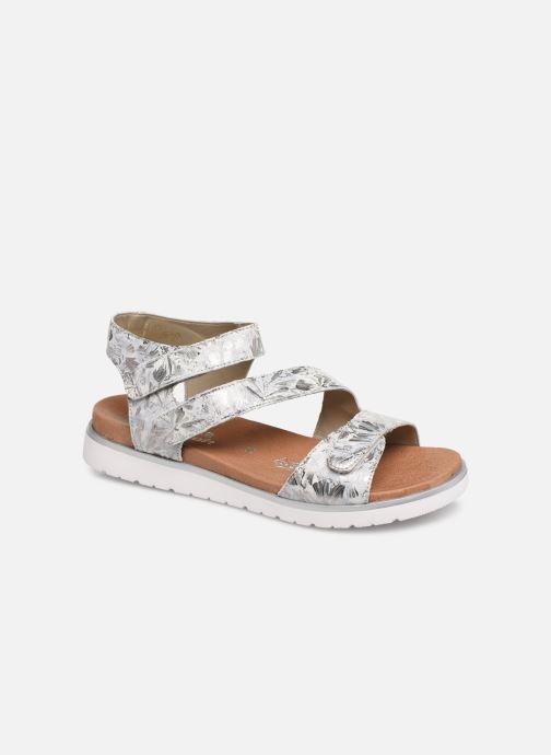 Sandales et nu-pieds Remonte Nelie D4057 Gris vue détail/paire