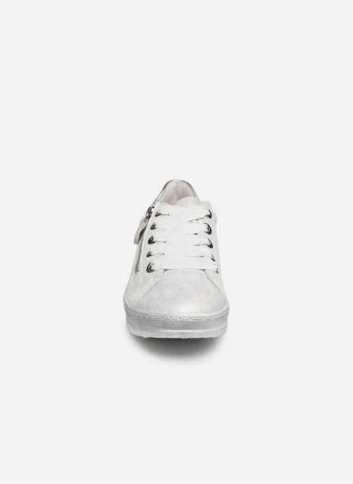 Sneaker Remonte Asia grau schuhe getragen