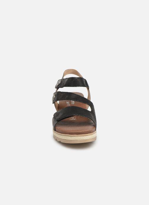 Sandales et nu-pieds Remonte Irina D6358 Noir vue portées chaussures