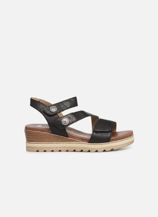 Sandales et nu-pieds Remonte Irina D6358 Noir vue derrière