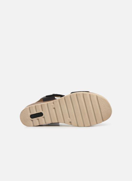 Sandales et nu-pieds Remonte Irina D6358 Noir vue haut