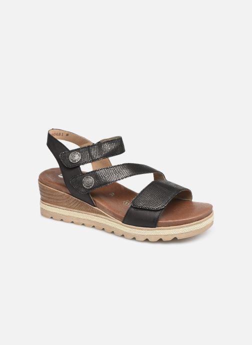 Sandales et nu-pieds Remonte Irina D6358 Noir vue détail/paire