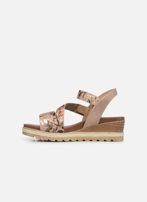 Sandales et nu-pieds Remonte Irina D6358 Rose vue face