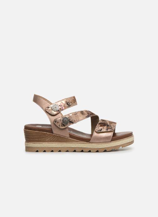 Sandales et nu-pieds Remonte Irina D6358 Rose vue derrière