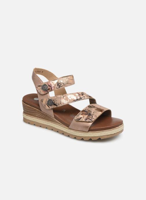 Sandales et nu-pieds Remonte Irina D6358 Rose vue détail/paire