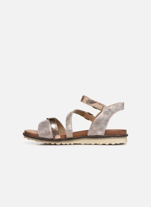 Sandales et nu-pieds Remonte Leya R2750 Rose vue face