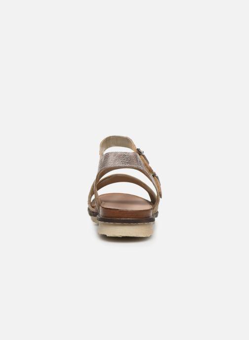 Sandales et nu-pieds Remonte Leya R2750 Rose vue droite
