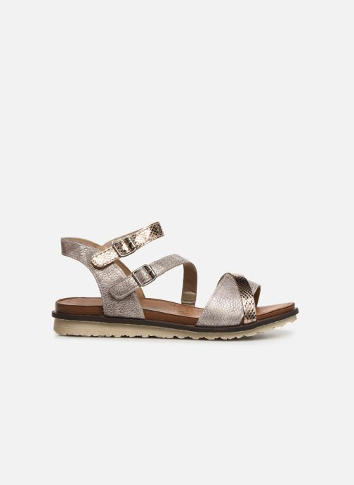 Sandales et nu-pieds Remonte Leya R2750 Rose vue derrière