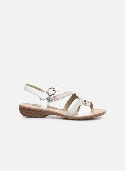Sandales et nu-pieds Remonte Dulce R3651 Blanc vue derrière
