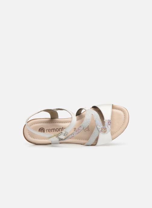 Sandales et nu-pieds Remonte Dulce R3651 Blanc vue gauche