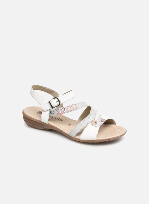Sandals Remonte Dulce R3651 White detailed view/ Pair view