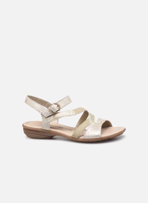 Sandales et nu-pieds Remonte Dulce R3651 Or et bronze vue derrière