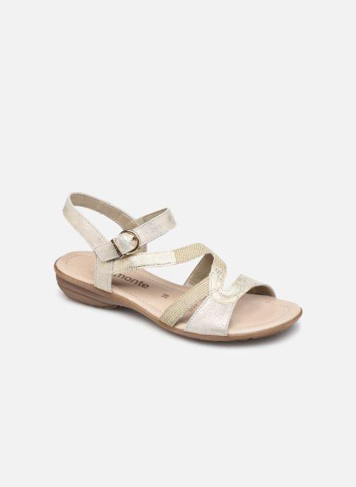 Sandales et nu-pieds Remonte Dulce R3651 Or et bronze vue détail/paire