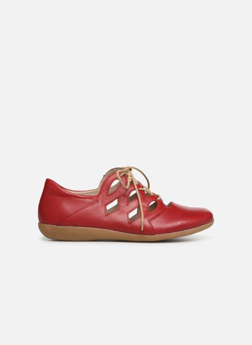 Snörade skor Remonte Naomy R3801 Röd bild från baksidan