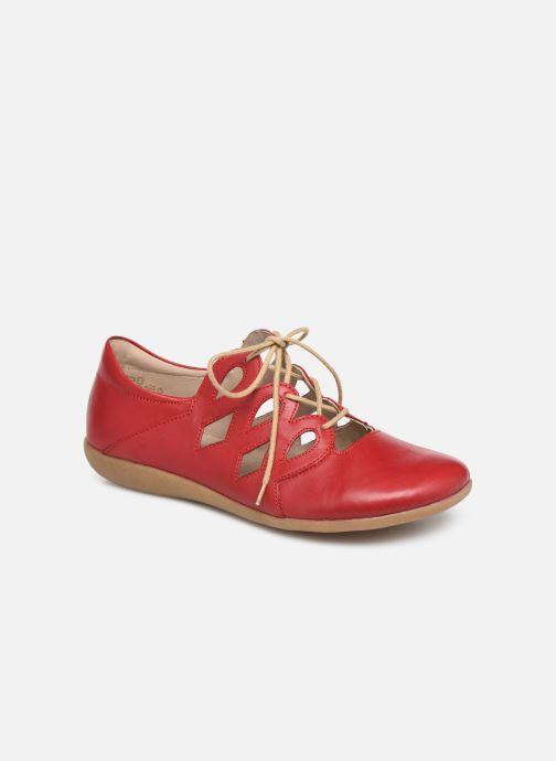 Chaussures à lacets Remonte Naomy R3801 Rouge vue détail/paire