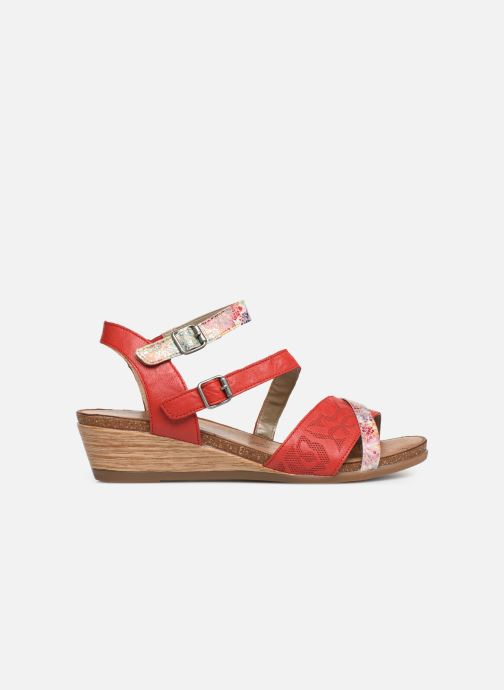 Sandales et nu-pieds Remonte Mei R4453 Rouge vue derrière