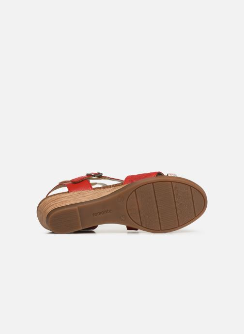 Sandals Remonte Mei R4453 Red view from above