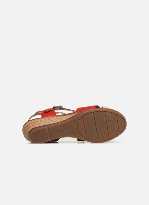 Sandales et nu-pieds Remonte Mei R4453 Rouge vue haut