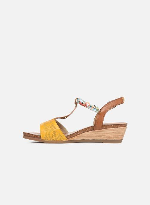 Sandales et nu-pieds Remonte Alia R4459 Jaune vue face
