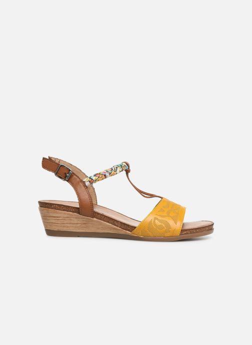 Sandales et nu-pieds Remonte Alia R4459 Jaune vue derrière