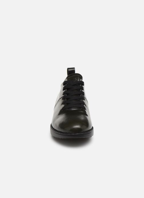 Chaussures à lacets TBS Whitney Gris vue portées chaussures