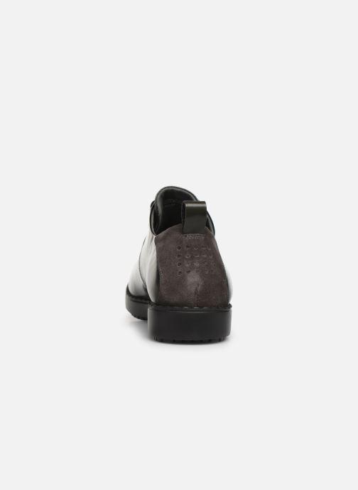 Chaussures à lacets TBS Whitney Gris vue droite