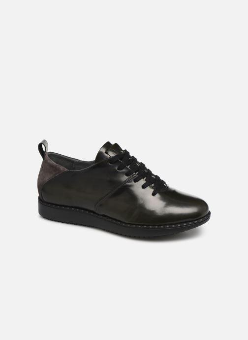 Chaussures à lacets TBS Whitney Gris vue détail/paire