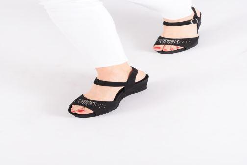 Sandali e scarpe aperte Mephisto Gaby Spark Nero immagine dal basso