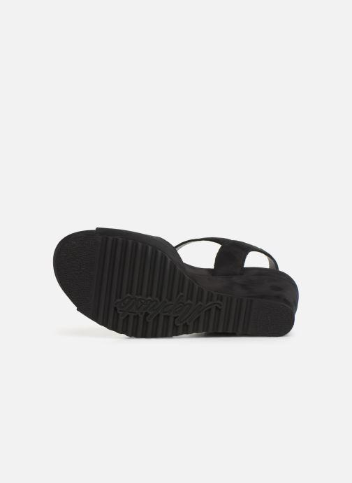 Sandali e scarpe aperte Mephisto Gaby Spark Nero immagine dall'alto
