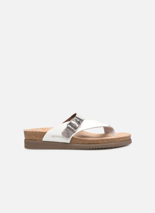 Sandales et nu-pieds Mephisto Helen Mix Argent vue derrière
