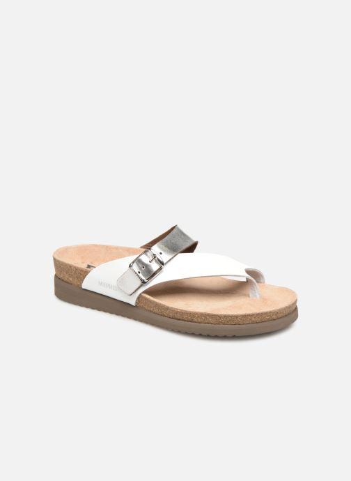 Sandales et nu-pieds Mephisto Helen Mix Argent vue détail/paire