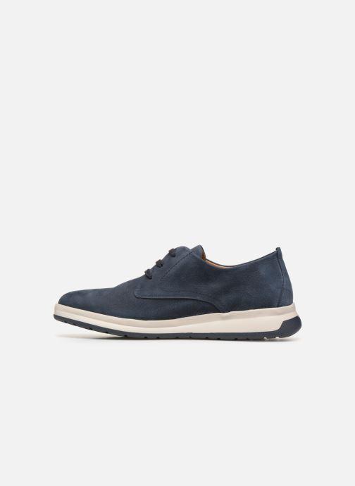 Sneakers Mephisto Lester C Blauw voorkant