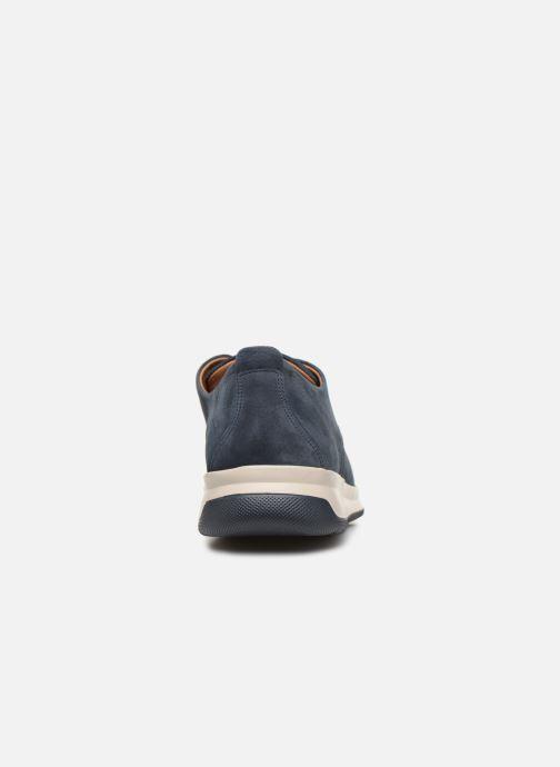 Sneakers Mephisto Lester C Blauw rechts