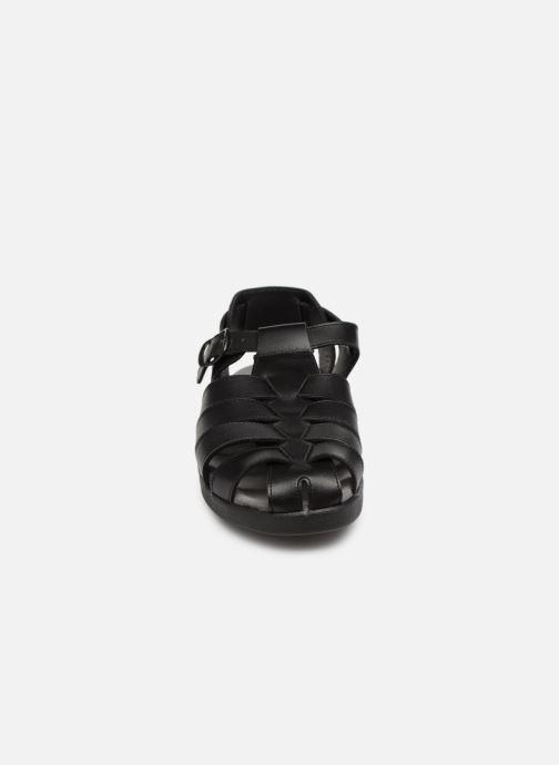 Sandales et nu-pieds Mephisto Sam Noir vue portées chaussures