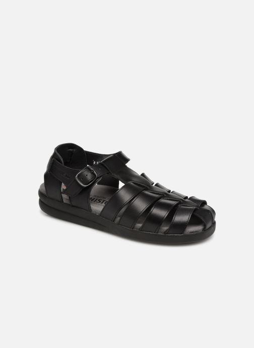 Sandales et nu-pieds Mephisto Sam Noir vue détail/paire